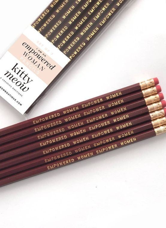 Empowered Women Empower Women - Pencil Pack Set