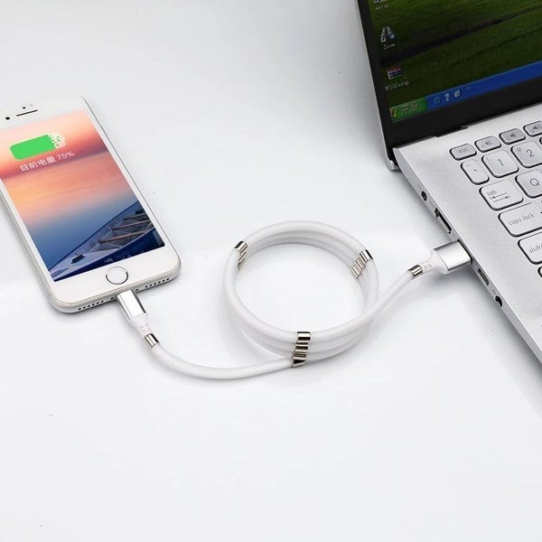 Magnetic Wrap iPhone Lightning Charger