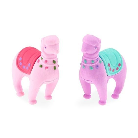 Lovely LLama Scented Erasers - Set of 2