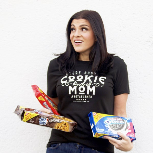 Store Bought Cookie Mom - Short Sleeve Tee - Reg/Plus