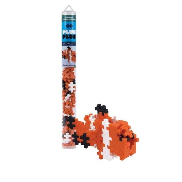 Clownfish - Plus-Plus 70 piece Tube