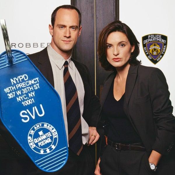 NYPD-SVU - Motel Key Fob