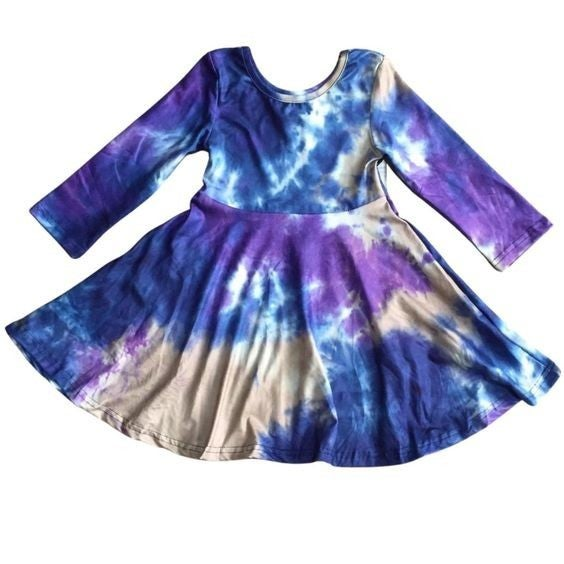 KIDS - Galaxy Tie-Dye - The Girl Next Door Dress
