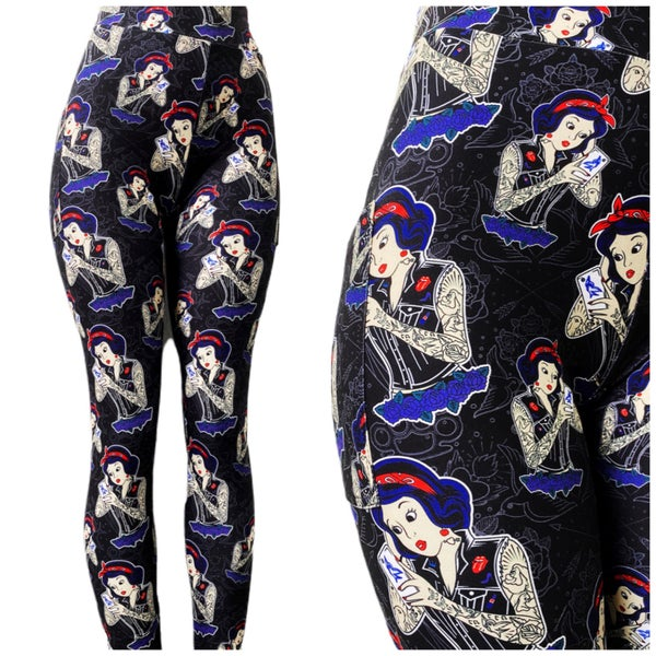 Rebel Apple - Leggings w/Pockets