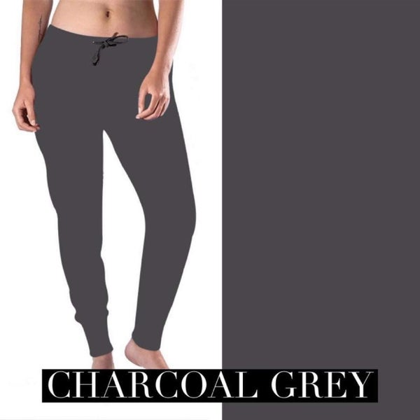 Solid Grey - The Jogger Perfected
