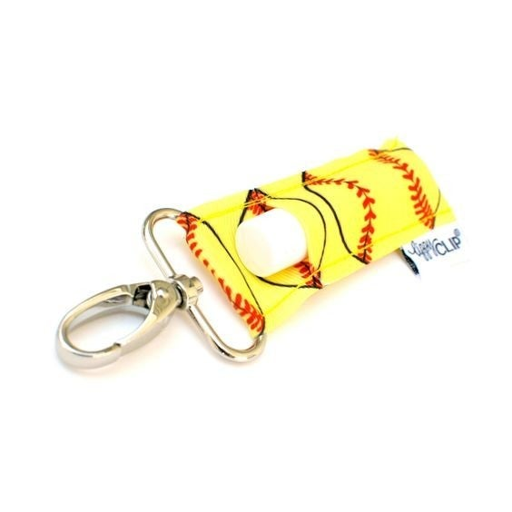 LippyClip Lip Balm Holder - Softball