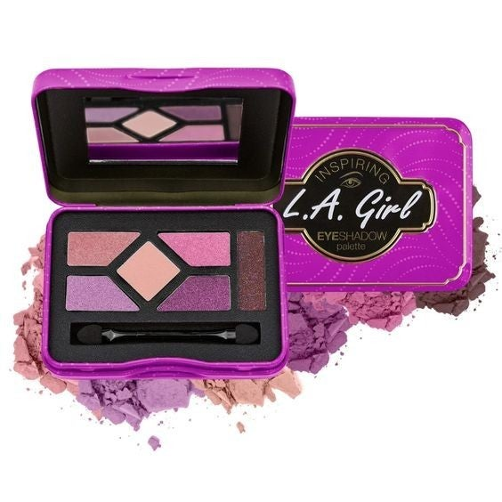 Get Glam & Get Going - Inspiring Eyeshadow Palette