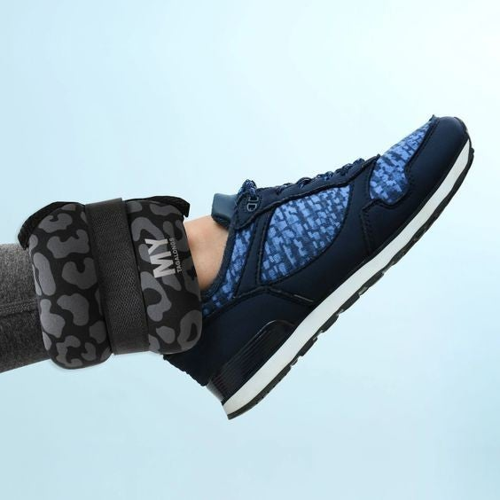Chic Leopard - Pair of Ankle Weights