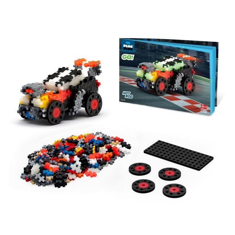 GO! - Hot Rod - Plus-Plus 240 Piece Set