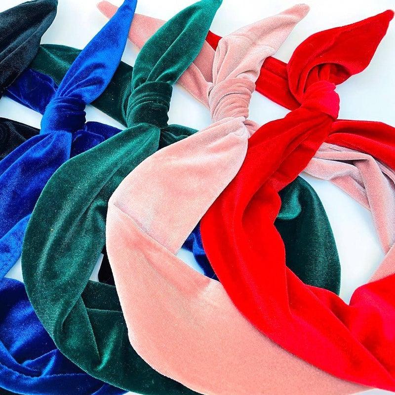 Velvet Headband - 4 Colors Available - Byrd Headbands