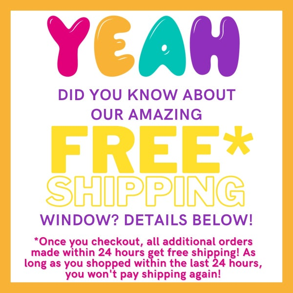 FREE SHIPPING WINDOW!