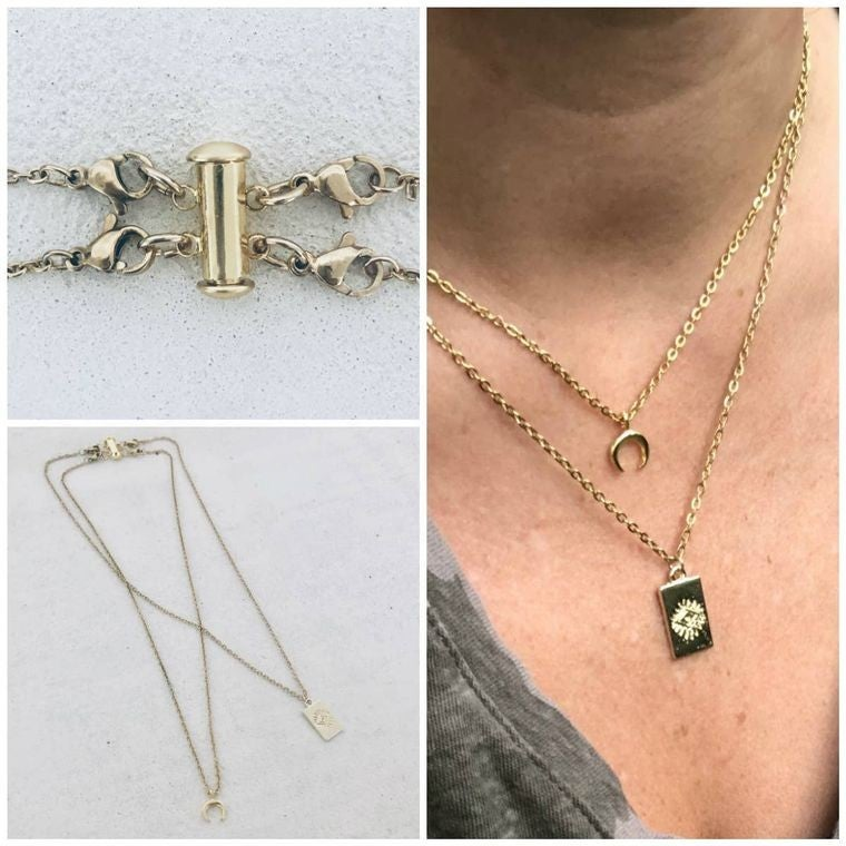 Layered Necklace Detangler Clasp