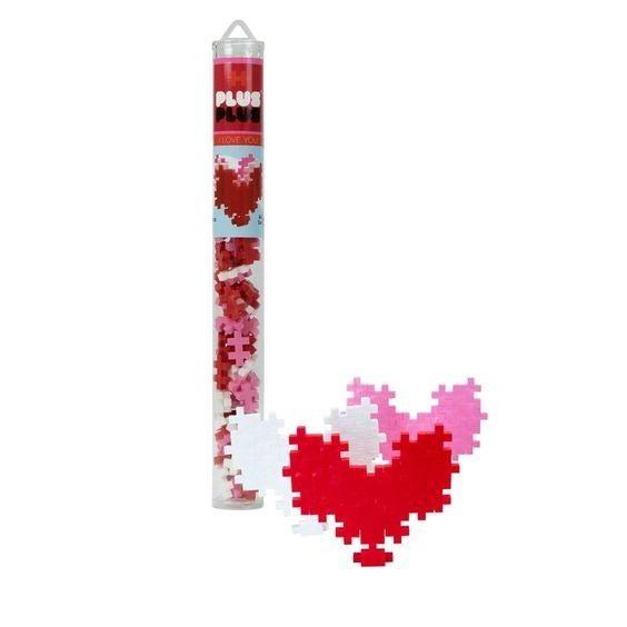I Love You - Plus-Plus 70 Piece Tube