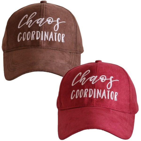 Chaos Coordinator - Ultra Suede Hat - 2 Colors!