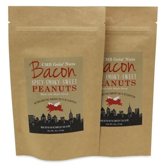Goin' Nuts - Spicy Smoky Sweet Maple Bacon Peanuts
