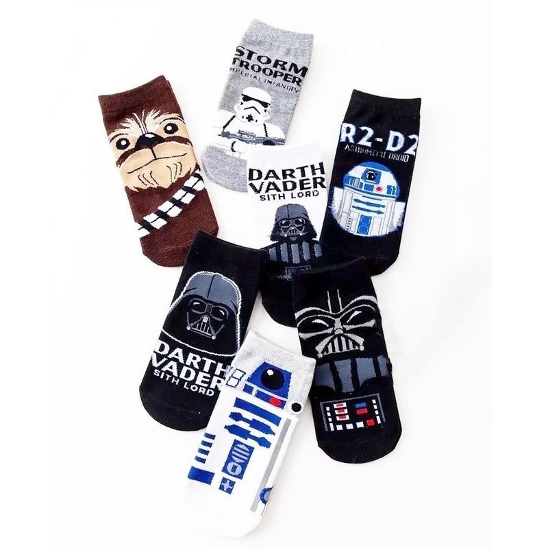 The Force - Women's Ankle Socks - 7 Pack