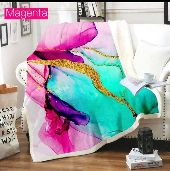 Magenta - Luxe Plush Blanket