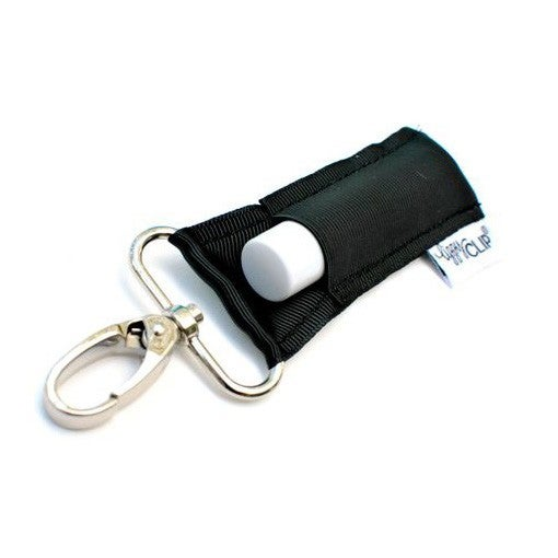 LippyClip Lip Balm Holder - Solid Black