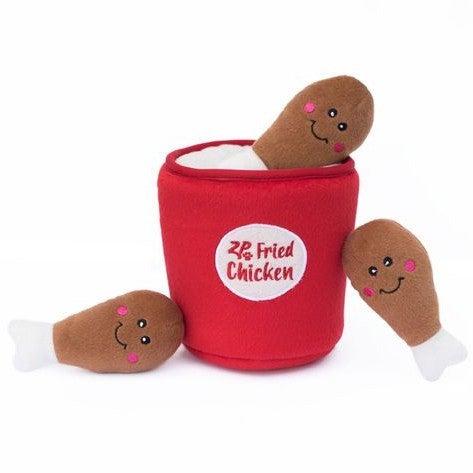 Fried Chicken Burrow - Dog Toy