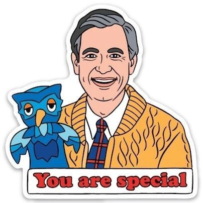 Mister Rogers - Sticker Decal