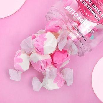 Strawberries 'N Creme Taffy - Candy Club