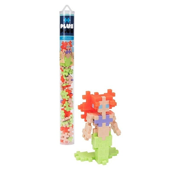 Mermaid - Plus-Plus 70 piece Tube