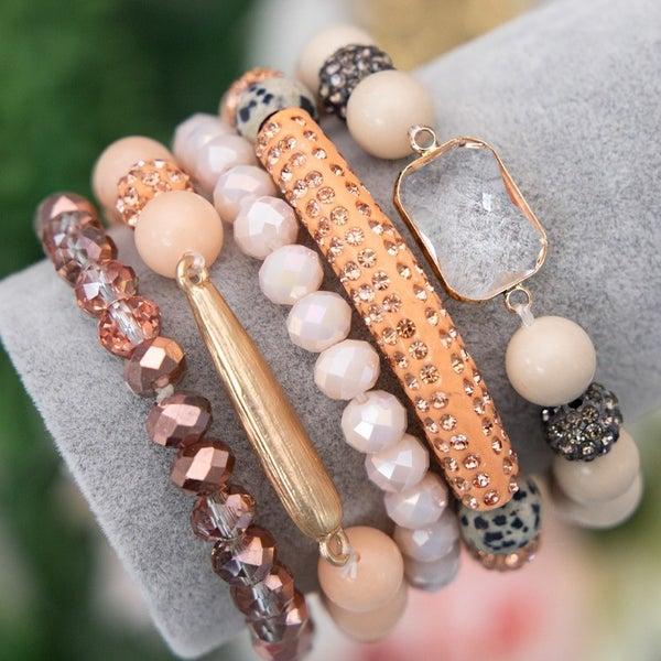Kiss Me - Bracelet Stack