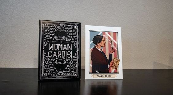 The Woman Cards - 15 Pack of Postcards