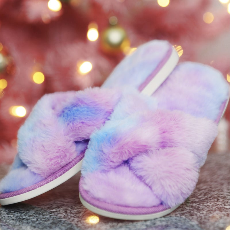 Mermaid Fuzzy Slippers