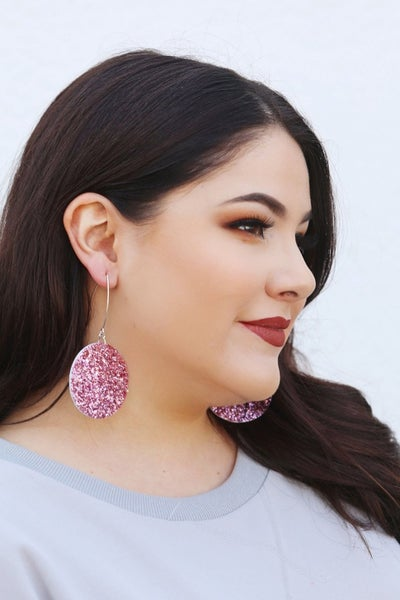 Vegas in Blush - Earrings