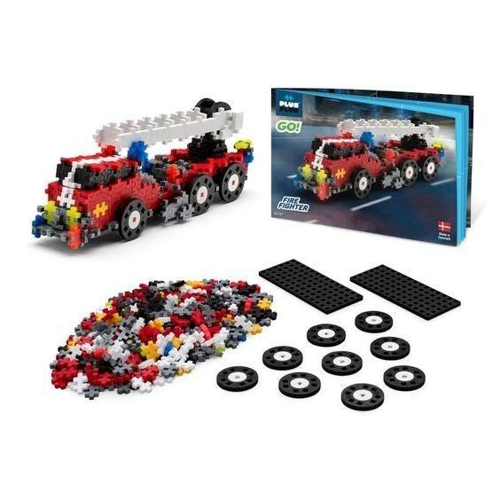 GO! - Fire Fighter - Plus-Plus 360 Piece Set