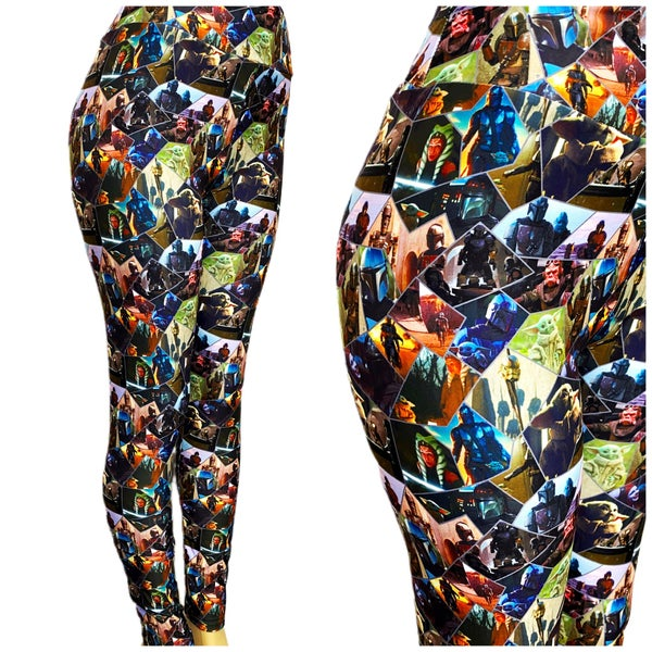 Soldiers of Space - Leggings - Reg/Plus