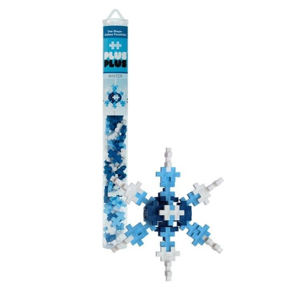 Winter - Plus-Plus 70 Piece Tube