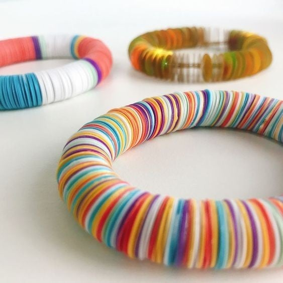 DIY Sequin Stretch Bracelet Kit