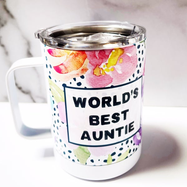 World's Best Auntie - 12oz - Mugsby
