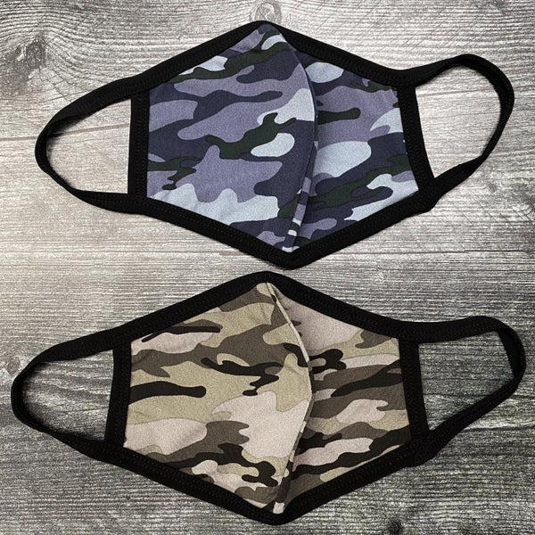 Camo Adult Personal Protection Face Mask - Non-Medical