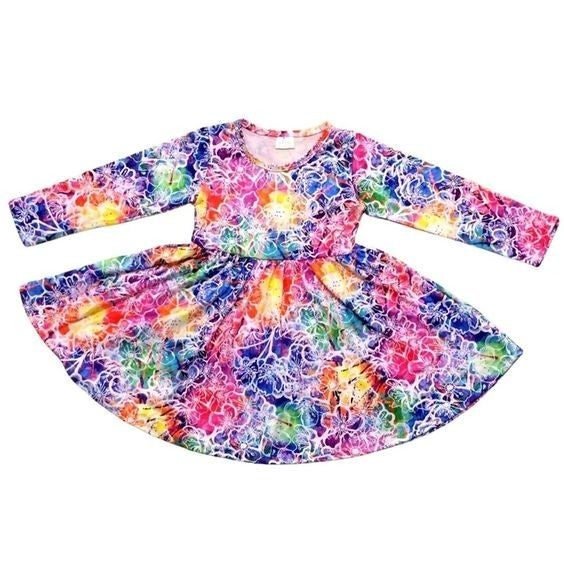 KIDS - Prismatic Petals - The Girl Next Door Dress
