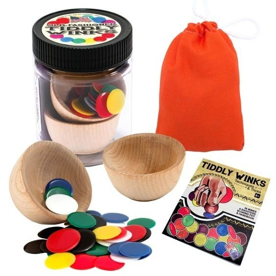 Classic Toys: Tiddly Winks Jar