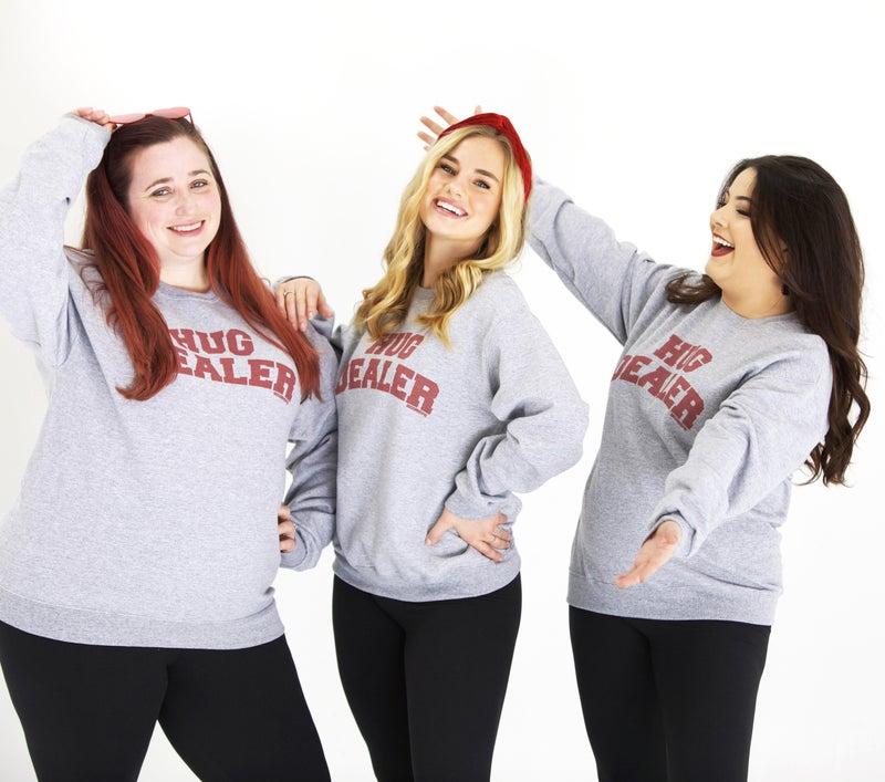 Hug Dealer - Unisex Sweatshirt - Reg/Plus