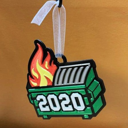 Limited Edition: Dumpster Fire - 2020 Commemorative Ornament