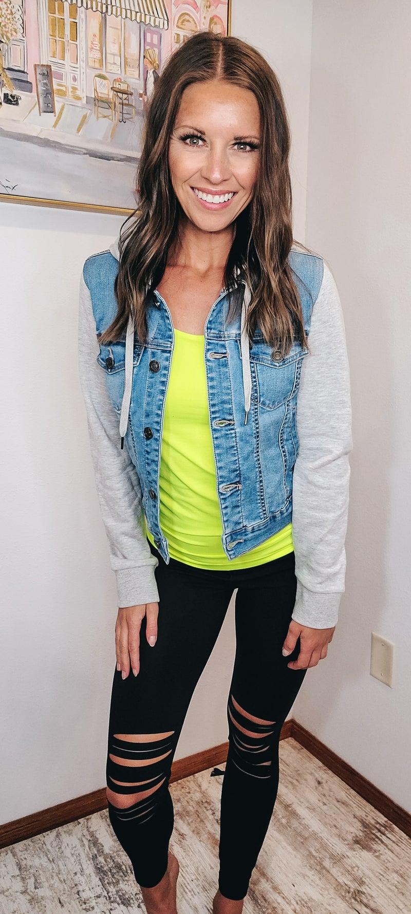Get It Girl Denim Jacket