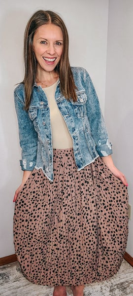 DOTTIE SWING SKIRT