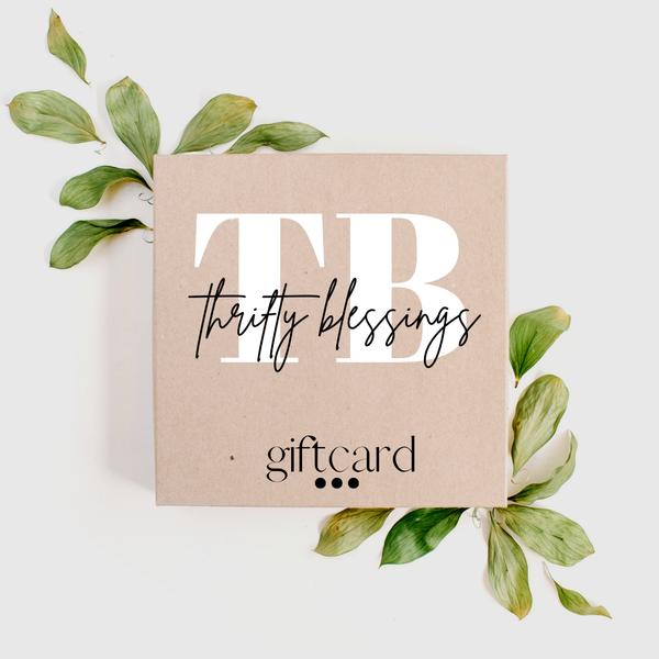 TBB GIFT CARD