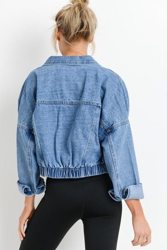 Urban Crop Denim Jacket