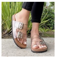 Mata Clear Sandal *Final Sale*