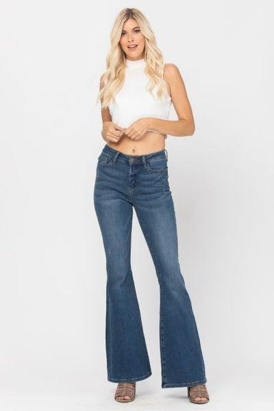 Medium High Rise Flare Jean