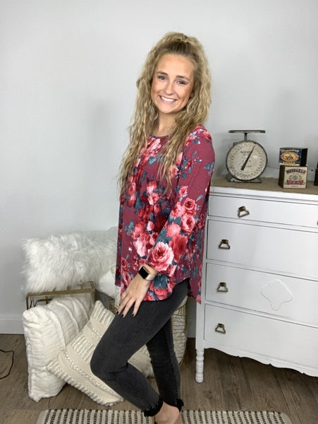 Floral Of Love Top