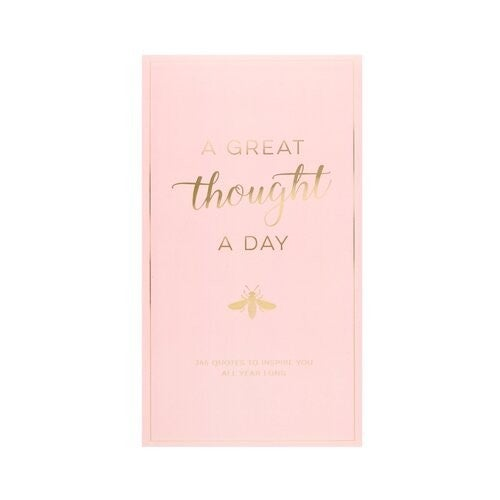 Pink Bee A Great Thought A Day Pad