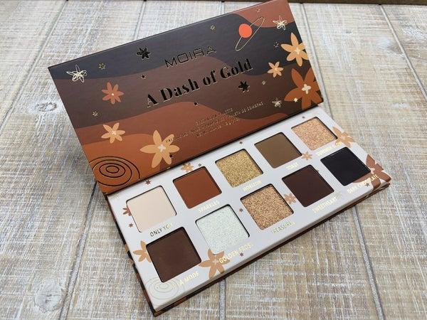 Dash of Gold Eyeshadow Pallete *Final Sale*
