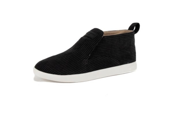 Black Slip On Canvas Shoe